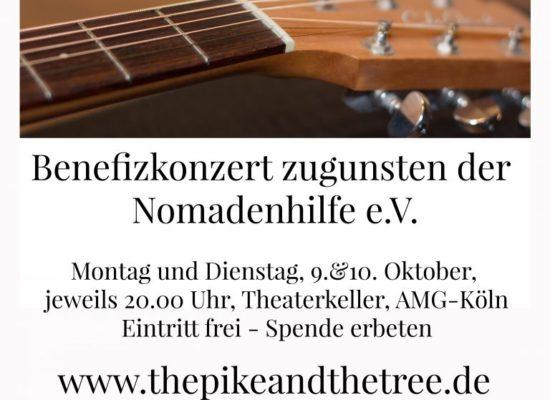 Benefizkonzert am 9. und 10. Oktober in Köln