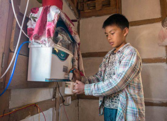 Wir erhalten 82.150 € für Trinkwasserprojekte in Bhutan!