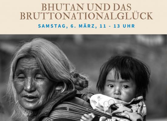 Online Workshop – Bhutan und das Bruttonationalglück