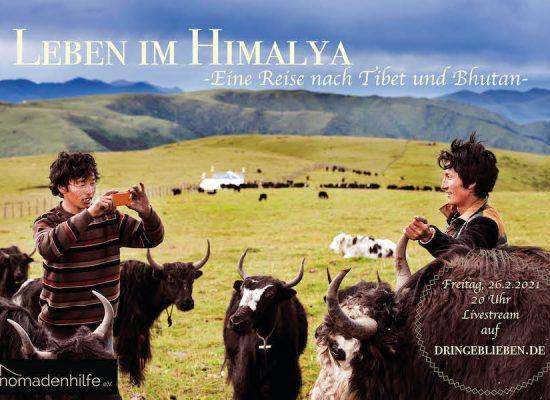 Livestream: Leben im Himalaya – Eine Reise nach Tibet und Bhutan
