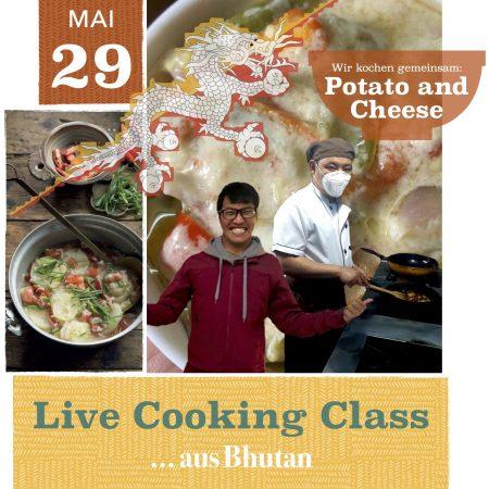 Live Cooking Class aus Bhutan